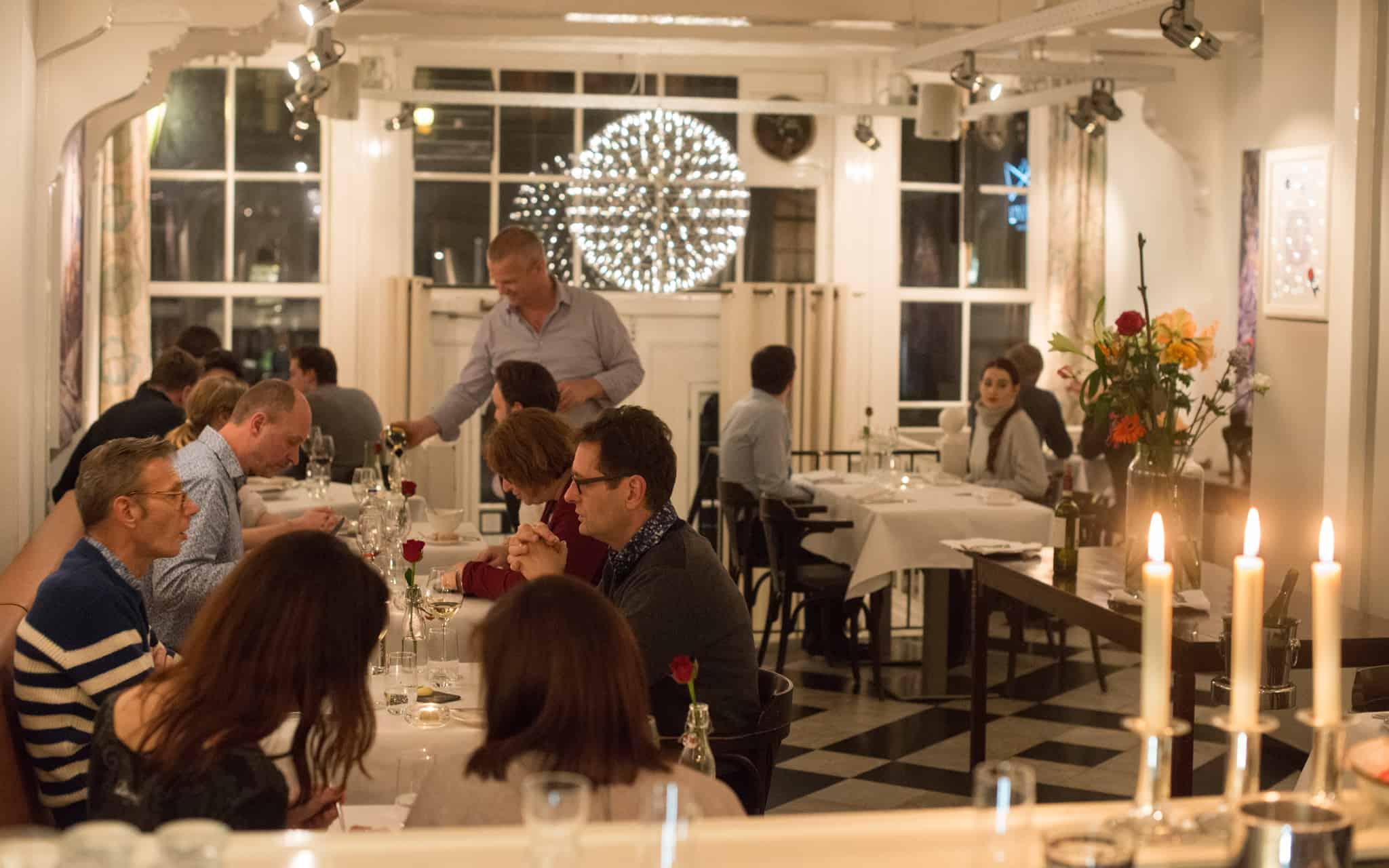 dinner at L'invité